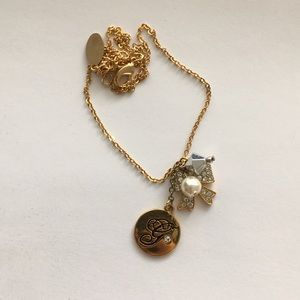 Guess Charm Golden Necklace